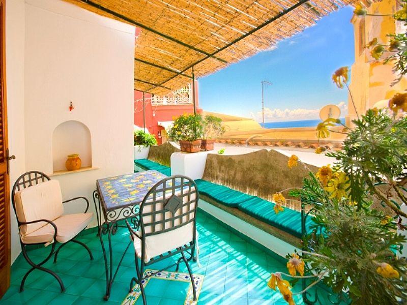 Apartment in Italy, Positano: terrace