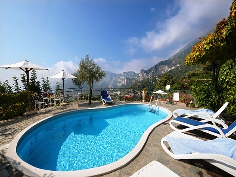 Villa in Italy, Positano: swimming pool