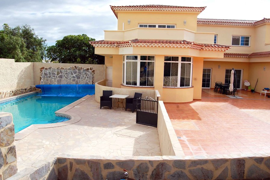 Owners abroad Alamos Park, Golf Del Sur - Huge 4 bed villa with heated pool