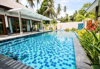 Villa in Thailand, Ban Tai: The Pool