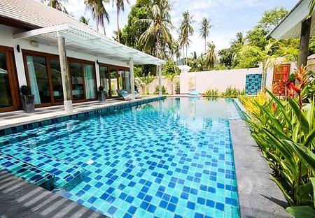Villa in Ban Tai, Koh Samui: The Pool