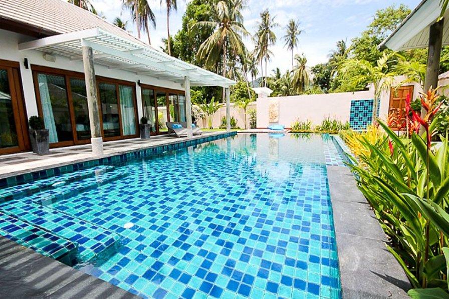 Villa in Thailand, Ban Tai: The Pool