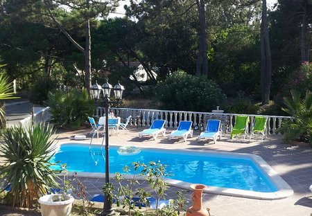 Cottage in Praia das Maçãs, Lisbon Metropolitan Area: Garden and Swimming pool