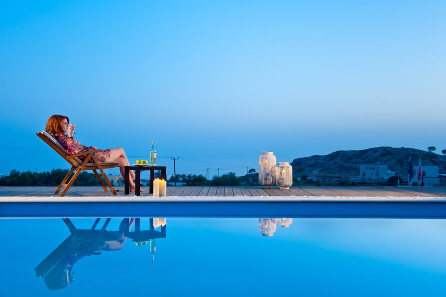 Villa in Greece, Pefkos