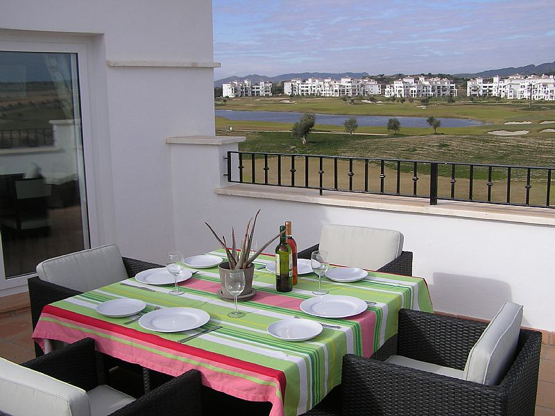 Penthouse apartment in Spain, Hacienda Riquelme Golf Resort: Terrace/Solarium