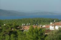 Villa in Turkey, Akyaka: View of Gulf of Gokova/Aegean from Terrace