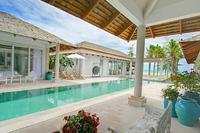 Villa in Thailand, Chaweng: Villa and pool
