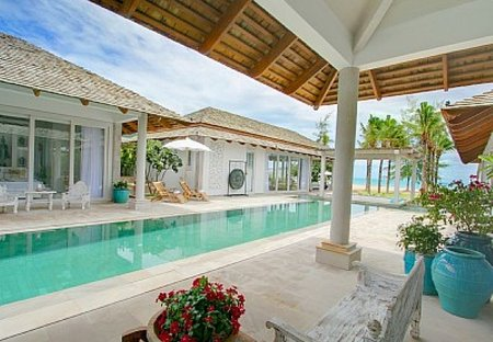 Villa in Chaweng, Koh Samui: Villa and pool