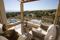 Villa in Cyprus, Tala: Balcony with Sea Views
