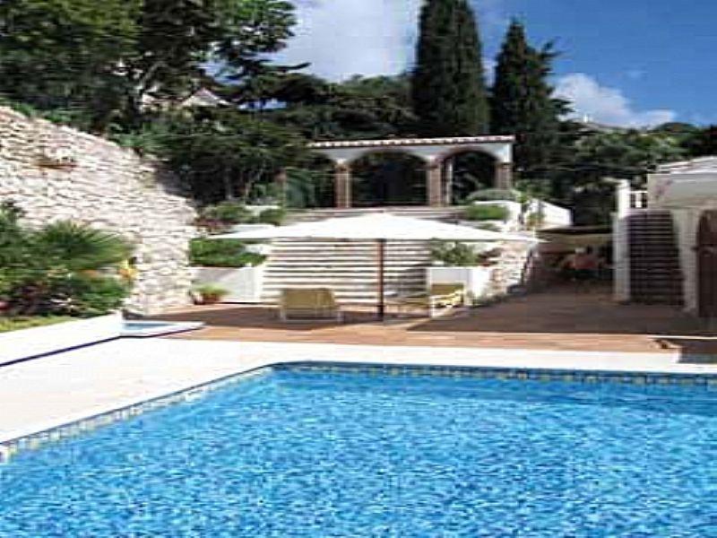Villa in Spain, Benalmádena: View to upper gardens