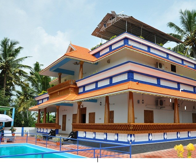 Villa to rent in poovar india with private pool 84559 for Pool design in kerala