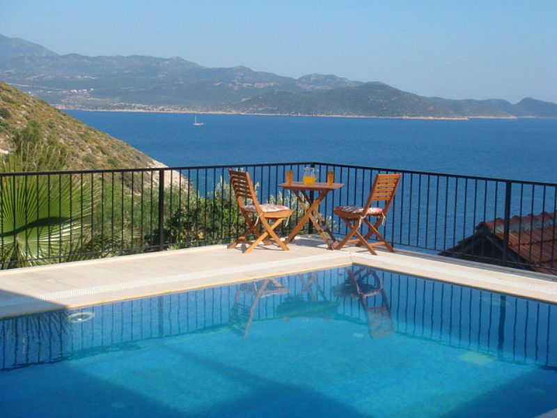 Villa in Turkey, Kas: View from the pool