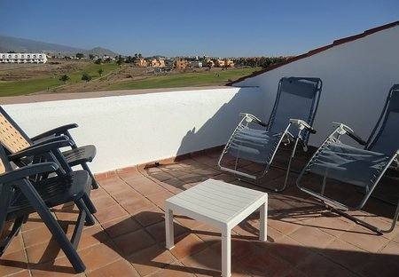 Apartment in Amarilla Golf, Tenerife: Lovely sunny private roof terrace