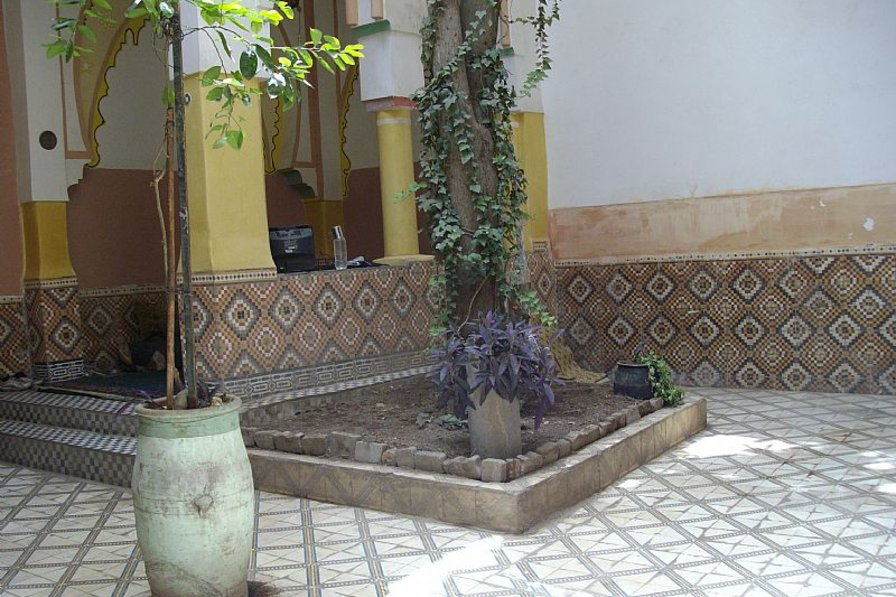 Owners abroad riad in bab doukkala
