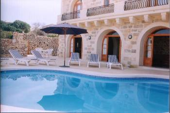 Farm house in Malta, Island of Gozo: Pool Area