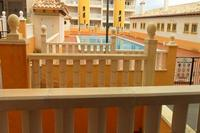 Apartment in Spain, El Pinet: pool  next to the apartment
