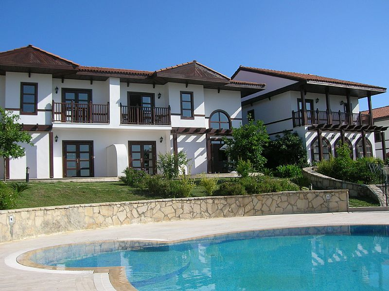 Villa in Turkey, Tasagil: View from rear