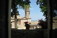 Village_house in Italy, Montalto delle Marche: View from the bedroom of Il Teatro
