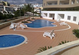 Apartment in Săo Sebastiăo (Lagos), Algarve: Swimming Pool  Area