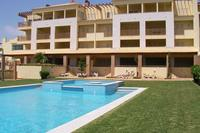 Apartment in Portugal, Terracos do Golfe: View of penthouse apartment from pool area
