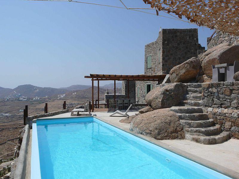 Villa in Greece, Mykonos: Azzuro Villa Exterior