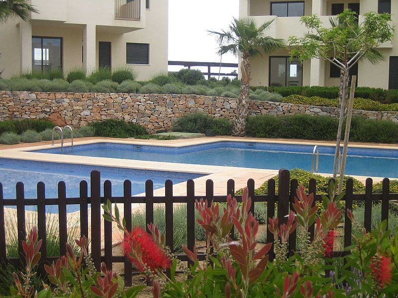 Apartment in Spain, Corvera Golf: Corvera - one of two swimming pools within minutes