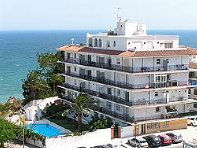 Apartment in Spain, Nerja: The Rocamar building