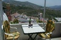 Village_house in Spain, Competa: The roof terrace with breathtaking views
