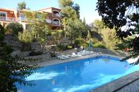 Villa in Spain, Oliva: guest building with 6 guest rooms all en-suite and private balconies