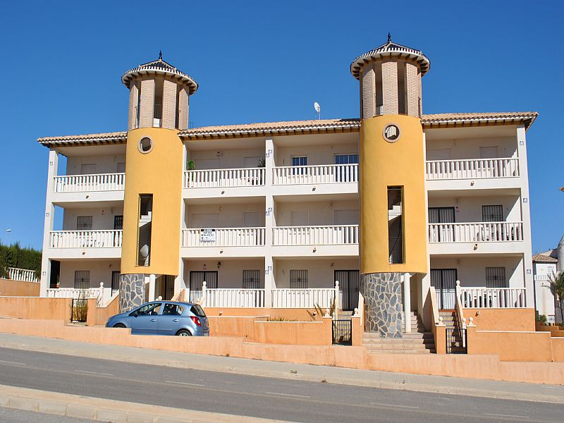 Apartment in Spain, Orihuela - Torrevieja: Front