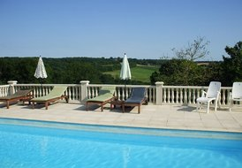 Cottage in France, Teyjat: Spectacular Pool View