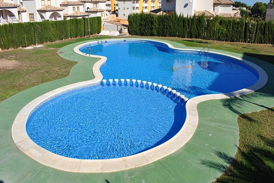 Apartment in Spain, La Cuerda y Lomas de Cabo Roig: Swimming Pool