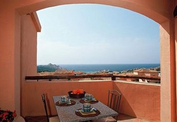 Apartment in Italy, Canneddi: Every Apartment Has A Great Sea-View Terrace Furnished For Alfresco ..