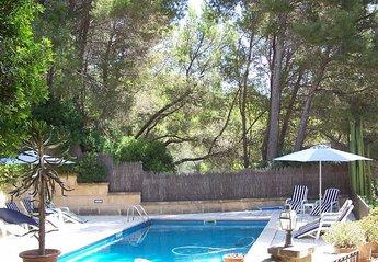 Villa in Spain, Andratx: private pool