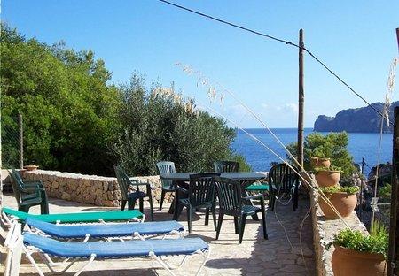 Villa in Sa Cala, Majorca: terrace