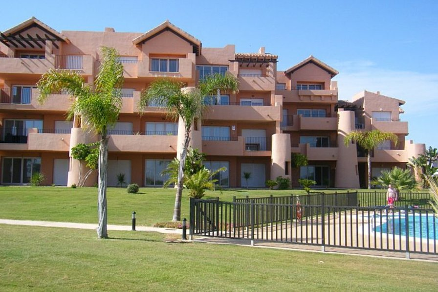 Apartment in Spain, Mar Menor Golf Resort: View from Golf Course