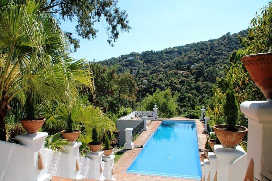 Villa in Spain, El Madroñal: pool area