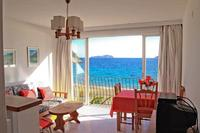 Apartment in Spain, Ibiza: Livingroom almost at the beach