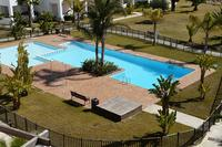 Apartment in Spain, Las Terrazas de La Torre: View of pool area from balcony