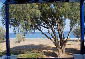 Beachfront Villa Iremia in Gennadi relaxing holidays guaranteed