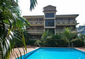 Penthouse Apartment in Candolim, India: The Penthouse is the whole top floor