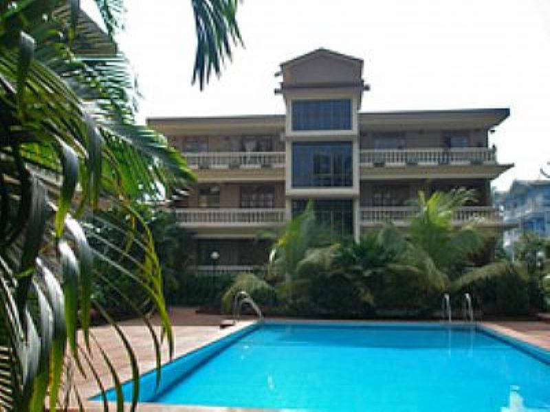 Penthouse apartment in India, Candolim: The Penthouse is the whole top floor