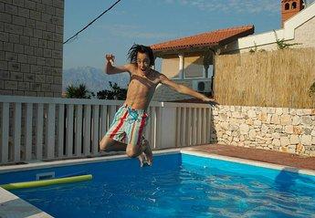 House in Croatia, Splitska: Wahay, fab fun Villa Maillard