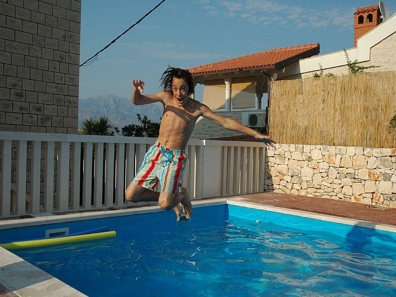 House in Croatia, Island of Brac: Wahay, fab fun Villa Maillard