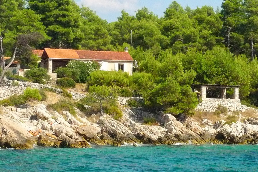 Country house in Croatia, Milna