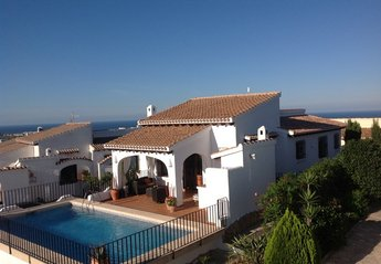 Villa in Spain, Monte Pego: Panoramic views