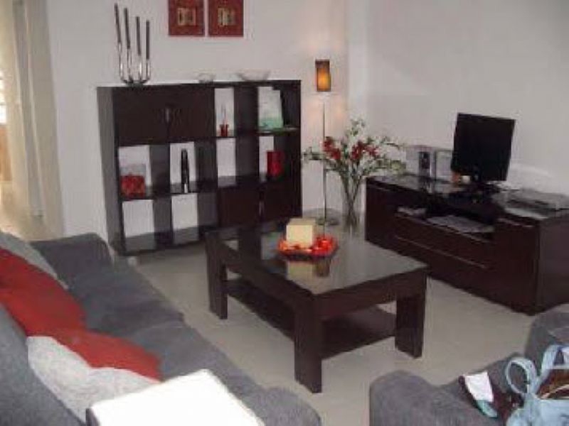 Apartment in Spain, La Manga Club: Lounge with cable TV, DVD, music centre