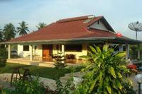 Villa in Thailand, Pattaya: rear of the villa