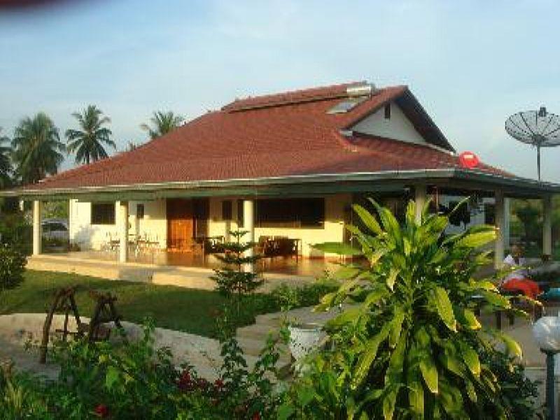 Villa in Thailand, Pattaya: rear of the villa