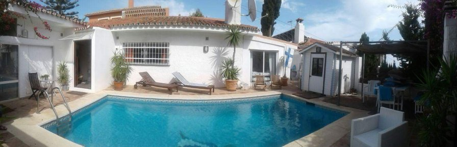 Owners abroad Stylish Villa with full of feeling. Private heated pool !
